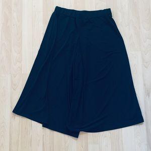 Michael Kors Navy Blue Jersey culottes M
